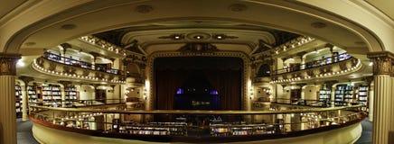 El Ateneo - bokhandel - Buenos Aires Arkivfoto