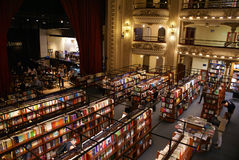 El Ateneo Bookstore Stock Photography