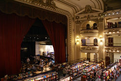El Ateneo Bookstore Royalty Free Stock Photo