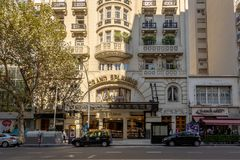 El Ateneo Grand Splendid bookshop - Buenos Aires, Argentina Royalty Free Stock Photo