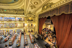 El Ateneo Grand Splendid is one of the best known bookshops in Buenos Aires, Argentina Stock Photos