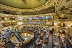 El Ateneo Grand Splendid is one of the best known bookshops in Buenos Aires, Argentina Stock Photography