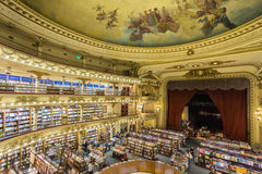 El Ateneo Grand Splendid is one of the best known bookshops in Buenos Aires, Argentina Stock Photo