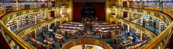 El Ateneo Uroczysty Prześwietny w Buenos Aires, Argentyna obrazy stock