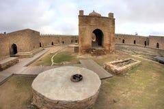 El Ateshgah en Azerbaijan Foto de archivo libre de regalías