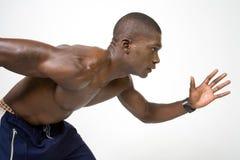 El atleta Imagen de archivo libre de regalías