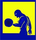 El atleta stock de ilustración