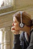 El Audioguide Imagenes de archivo