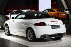 El automóvil descubierto de Audi TT Foto de archivo