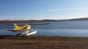 El avión del flotador Fotos de archivo