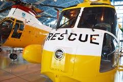 El avión del rescate fotografía de archivo