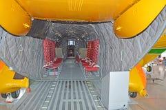 El avión del rescate fotos de archivo