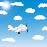 El avión - ejemplo Imagenes de archivo