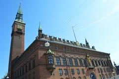 el ayuntamiento copenaghen Fotos de archivo