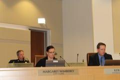 El Ayuntamiento de Brentwood prohíbe el cultivo médico AB266 de la marijuana fotos de archivo