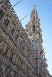 El ayuntamiento de Bruselas Fotografía de archivo libre de regalías
