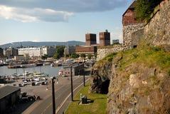 El ayuntamiento de Oslo Imagenes de archivo