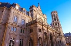 El ayuntamiento del 1r arrondissement de París, Francia Fotos de archivo libres de regalías
