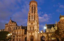 El ayuntamiento del 1r arrondissement de París, Francia Fotos de archivo
