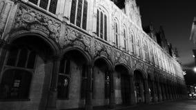 El ayuntamiento en la ciudad de mechelen fotos de archivo libres de regalías