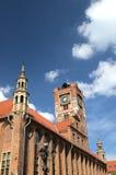 El ayuntamiento en Torun (Polonia) Imágenes de archivo libres de regalías