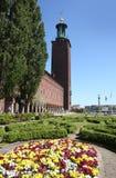 El ayuntamiento, Estocolmo Imagen de archivo libre de regalías
