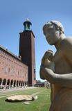El ayuntamiento, Estocolmo Fotografía de archivo libre de regalías