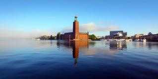 El ayuntamiento, Estocolmo imagenes de archivo