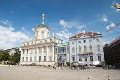 El ayuntamiento viejo de Potsdam imagen de archivo