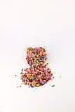 El azúcar asperja Foto de archivo libre de regalías