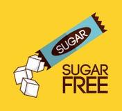 El azúcar libera Fotografía de archivo libre de regalías