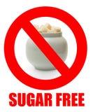 El azúcar libera Foto de archivo libre de regalías