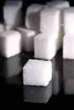 El azúcar cubica A Fotografía de archivo libre de regalías