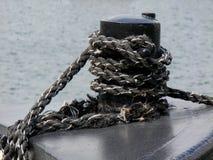 El azotar de la cuerda del nudo de Schiffer Foto de archivo