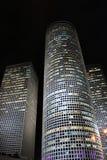 El Azrieli es un complejo de rascacielos en Tel Aviv, Israel Foto de archivo libre de regalías