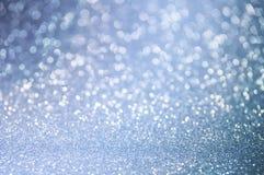El azul abstracto Defocused enciende el fondo Imagen de archivo