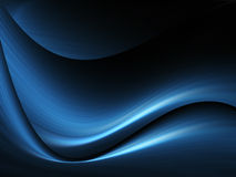 El azul agita el fondo Fotos de archivo libres de regalías