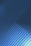 El azul cubica el fondo Fotos de archivo libres de regalías