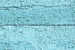 El azul del vintage pintó textura de madera fotos de archivo