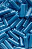 El azul gotea el surtido fotografía de archivo libre de regalías
