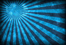 El azul irradia el grunge Imagen de archivo libre de regalías