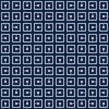 El azul japonés repetido ajusta el modelo stock de ilustración