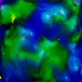 El azul profundo stock de ilustración