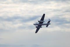 El B-25 norteamericano Mitchell Imagenes de archivo