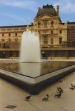 El baño de las palomas Foto de archivo
