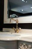 El baño, interior, adorna Fotografía de archivo