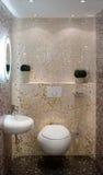 El baño, interior, adorna Imagen de archivo