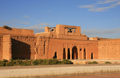 EL-Badi di Palais a Marrakesh Immagini Stock Libere da Diritti