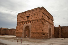 El Badi Palace in Marrakech Stock Image