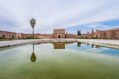 El Badi Palace Pavilion at Marrakech, Morocco Stock Photos